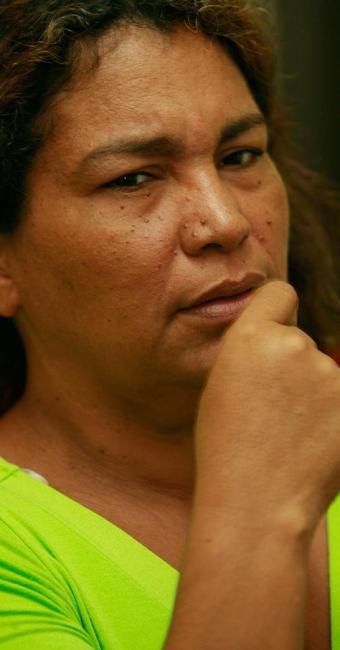 Rute Fiúza cobra explicações do governo sobre o desaparecimento do filho - Foto: Joá Souza | Ag. A TARDE