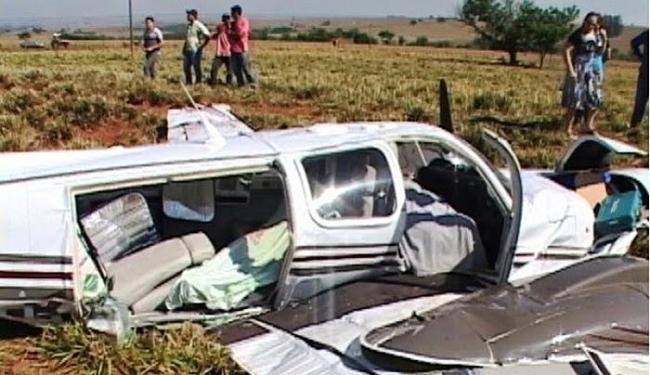 Ives Brandão Moreno é um dos três mortos na queda de um avião em Bandeira (MG) - Foto: Divulgação l www.macaranireporter.com.br