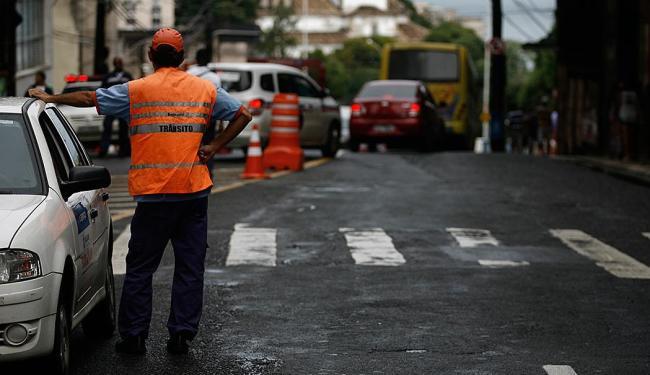 Transalvador fará interdição progressiva do tráfego no Centro e na Liberdade nesta quinta-feira, 20 - Foto: Raul Spinassé   Ag. A TARDE
