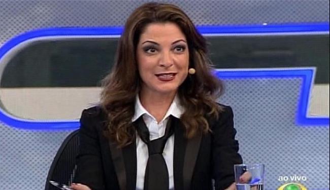 Jornalista substituiu Marcelo Tas na bancada do programa - Foto: Reprodução   Band