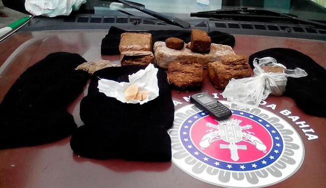 Drogas foram apreendidas durante operação em Madre de Deus - Foto: Divulgação