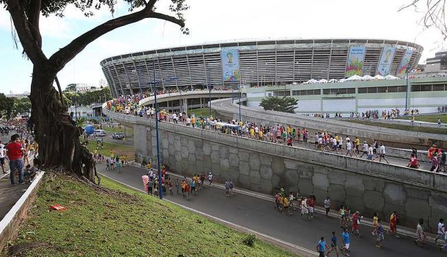 A Secretaria Estadual para Assuntos da Copa teve papel de destaque na preparação e durante os jogos - Foto: Carlos Casaes   Ag. A TARDE   1º.07.2014