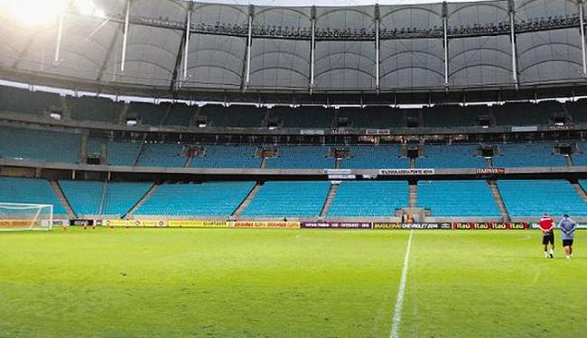 Fonte Nova receberá o Bahia pela última vez neste ano - Foto: Lúcio Távora | Ag. A TARDE