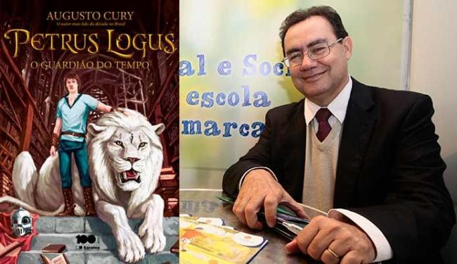 Augusto Cury vai autografar os livros na Saraiva do Iguatemi - Foto: Mila Cordeiro | Ag. A TARDE