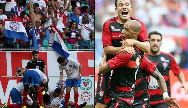 Bahia e Vitória lutam pra não cair - Foto: Carlos Casaes | Ag. A TARDE