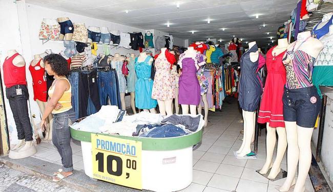 Lojistas de mais de 350 estabelecimentos oferecem empregos temporários para o final do ano - Foto: Marco Aurélio Martins | Ag. A TARDE