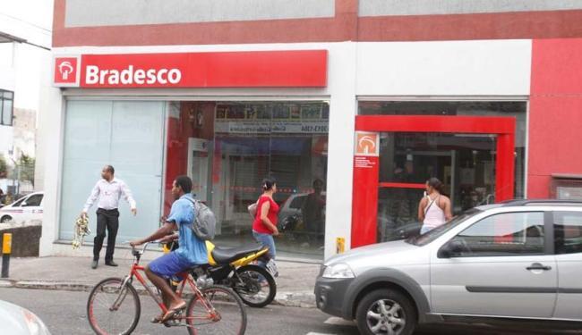 Banco está funcionando normalmente após ação - Foto: Edilson Lima | Ag. A TARDE