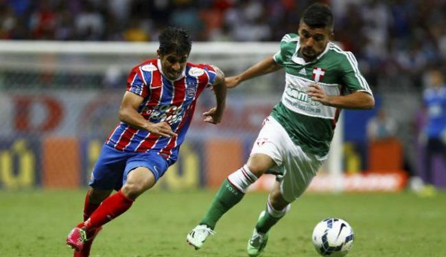 Após derrota, Bahia precisa somar 12 dos 18 pontos ainda em disputa - Foto: Eduardo Martins   Ag. A TARDE