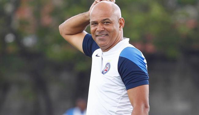 Charles reassume o Bahia a quatro jogos do fim do Brasileirão - Foto: Eduardo Martins | Ag. A TARDE