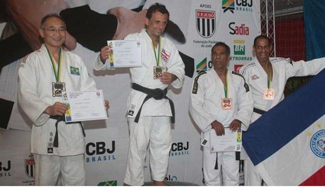 Medalhistas do Mundial de Grand Master 2014 foram homenageados durante o evento - Foto: Divulgação l CBJ