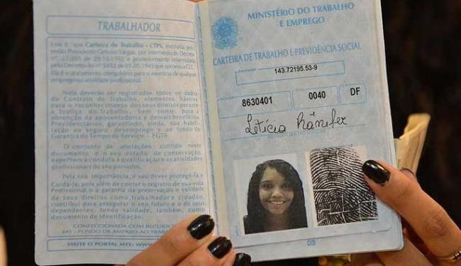 O solicitante receberá o documento no ato da requisição - Foto: Fabio Rodrigues Pozzebom/Agência Brasil