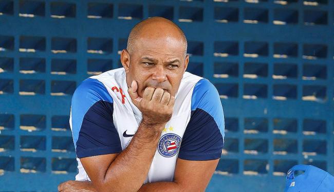 Charles Fabian convoco os mesmos jogadores que enfrentaram o Bahia - Foto: Eduardo Martins | Ag. A TARDE