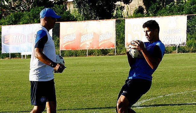Jeam ganhou a confiança do treinador e pode ser titular contra o Grêmio - Foto: Margarida Neide   Ag. A TARDE