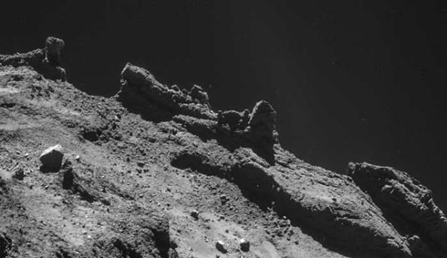 Imagens do cometa já foram enviadas pelo Rosetta - Foto: Divulgação | Nasa