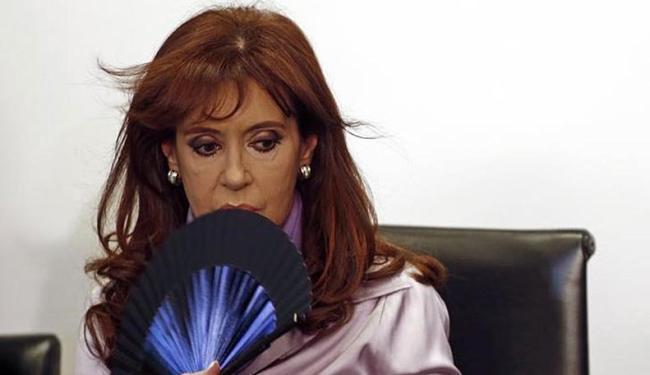 Cristina Kirchner apresentou