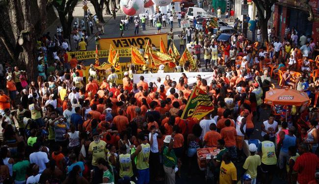 Marchas ganham as ruas da capital baiana nesta quinta - Foto: Margarida Neide | Ag. A TARDE