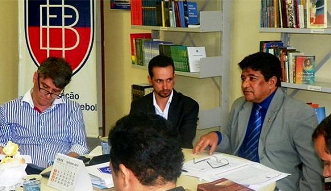 Evento será comandado pela diretoria da FBF, representada pelo presidente Ednaldo Rodrigues (D) - Foto: Reprodução l FBF