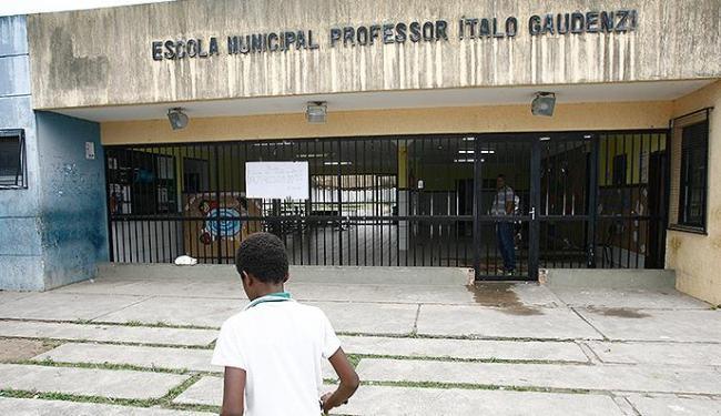 Por falta de segurança, crianças não tiveram aulas - Foto: Luciano da Matta | Ag. A TARDE