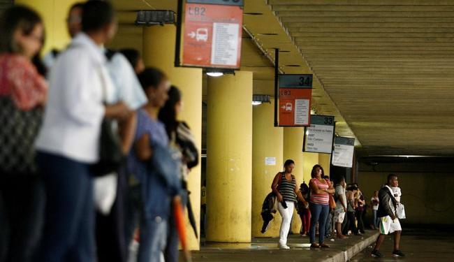 Laudos apontam que algumas áreas do terminal - não reveladas pela prefeitura - serão demolidas - Foto: Raul Spinassé | Ag. A TARDE