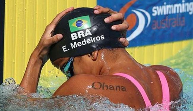 A atleta do SESI-SP venceu a prova com o tempo de 26s36 - Foto: Reprodução l Facebook