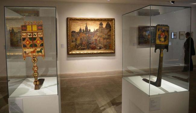 São mais de 150 peças, que incluem todas as fases do pintor - Foto: Wilson Dias | Agência Brasil