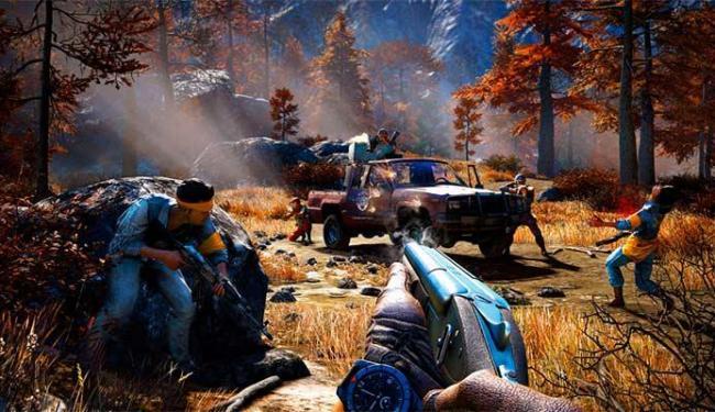 Far Cry 4 é um jogo de tiro em primeira pessoa em um mundo aberto - Foto: Divulgação