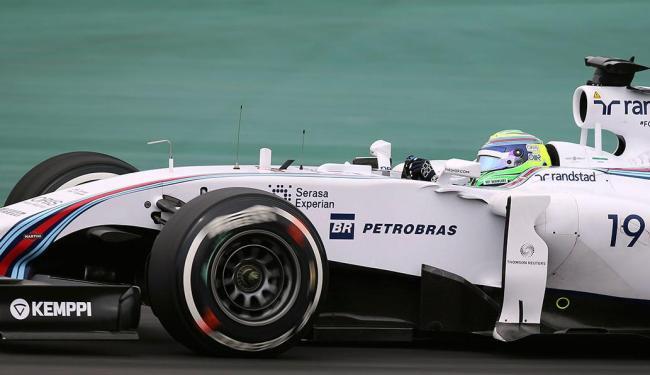 Felipe Massa apresentou bom ritmo durante o terceiro treino livre - Foto: Agência Reuters