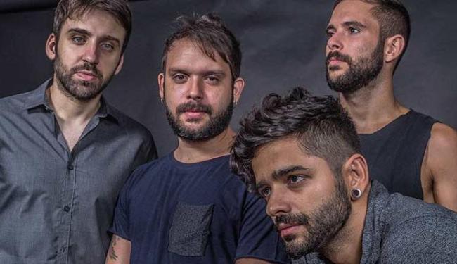 A banda é formada por Gustavo Mantovani (Vavo), Mário Camelo, Lucas Silveira e Thiago Guerra - Foto: Rafaek Kent   Divulgação