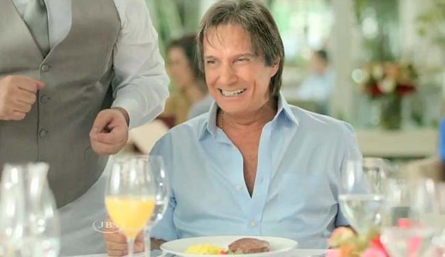 Campanha da Friboi com Roberto Carlos não foi bem aceita pelo público - Foto: Reprodução