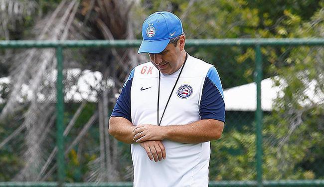 Técnico pediu demissão em reunião com diretoria e jogadores - Foto: Eduardo Martins | Ag. A TARDE
