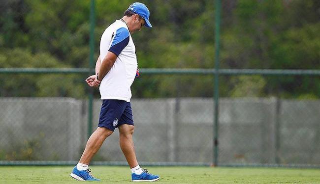 Kleina tem de fazer o que não conseguiu até agora: acertar o time do Bahia para as últimas rodadas - Foto: Eduardo Martins | Ag. A TARDE