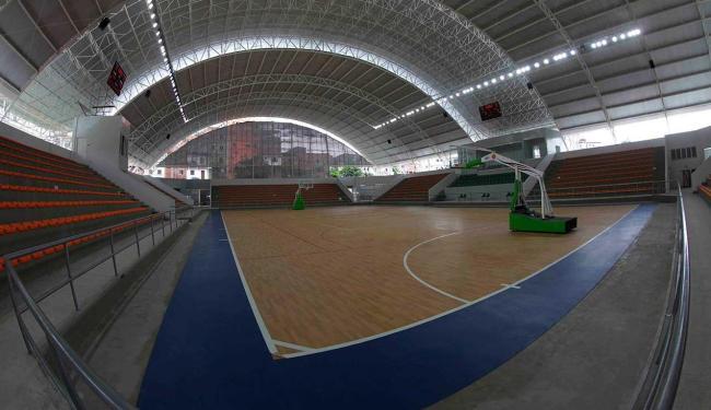 Ginásio tem capacidade para 2.500 pessoas - Foto: Carol Garcia   GOVBA