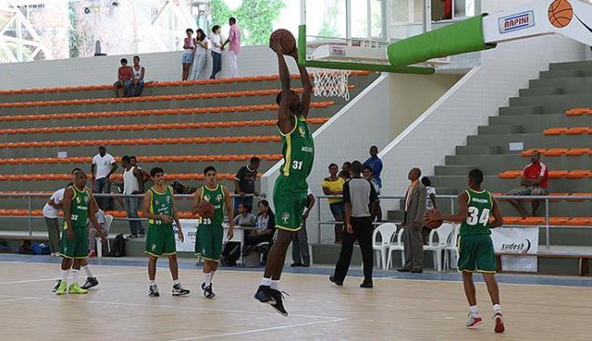 Inauguração do complexo teve jogo de basquete entre times de Cajazeiras - Foto: Divulgação