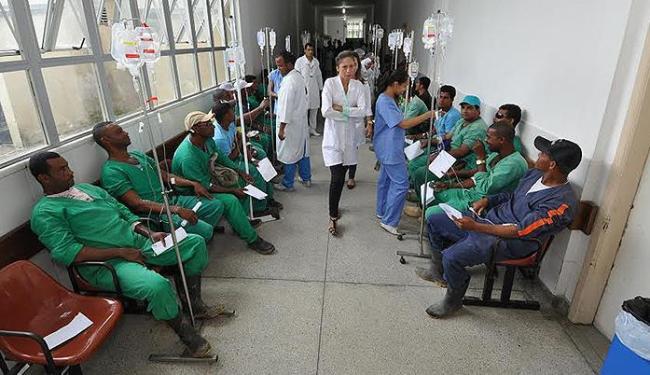 Direção do hospital disse ter reforçado equipe médica para atender os operários - Foto: Wilson Oliveira l Secretaria Municipal de Comunicação