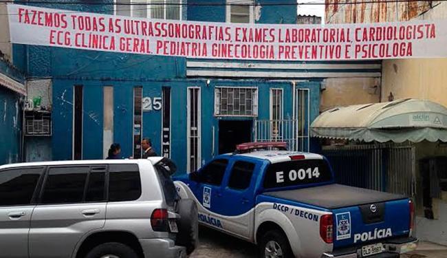 As oito clínicas são clandestinas e foram interditadas pela Decon - Foto: Divulgação | ASCOM Polícia Civil