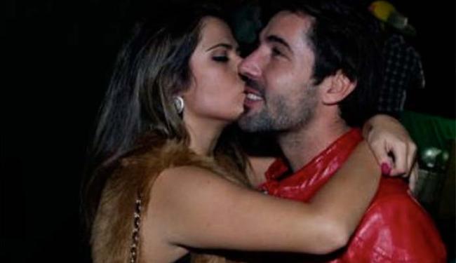 Jéssica Costa e Sandro Pedroso juntos em outro evento - Foto: Coluna Fabíola Reipert   R7   Reprodução