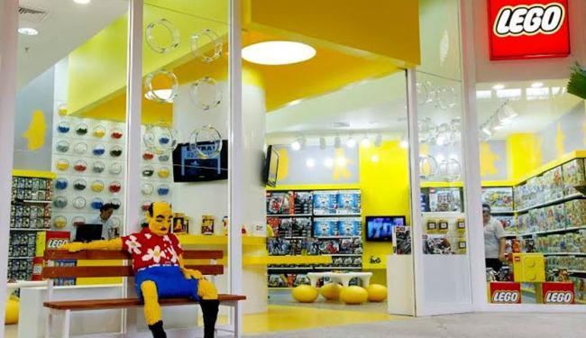 Com a loja de Salvador, Lego terá seis unidades no Brasil, incluindo São Paulo - Foto: Divulgação   Lego
