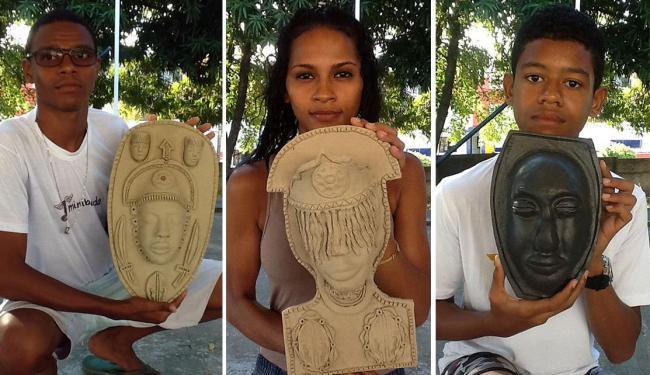 Máscaras foram inspiradas na obra de Abdias do Nascimento - Foto: Divulgação
