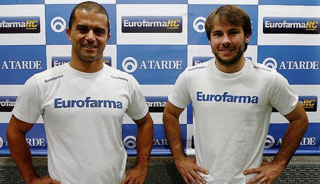 Max Wilson (E) e Ricardo Maurício apontam prova no CAB como imprevisível e emocionante - Foto: Marco Aurélio Martins | Ag. A TARDE
