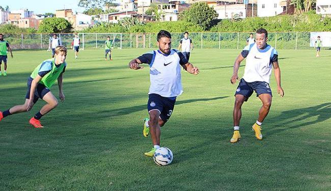 Maxi participou da atividade normalmente e mostrou que está recuperado - Foto: Divulgação l E.C. Bahia