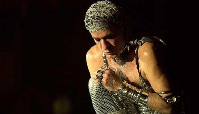 Ney Matogrosso mostra a performance que apresenta no palco, no DVD - Foto: Marcos Hermes | Divulgação