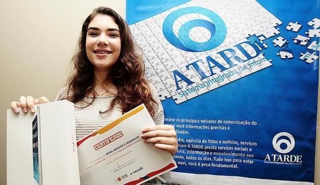 Nina Miguez: 'Fiz muitas redações, com vários temas' - Foto: Mila Cordeiro   Ag. A TARDE