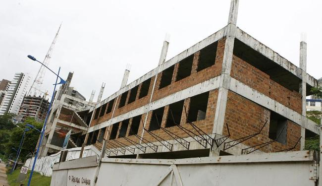 Caso mais grave é do prédio do Instituto de Ciência da Informação, cuja demolição é cogitada - Foto: | Ag. A TARDE