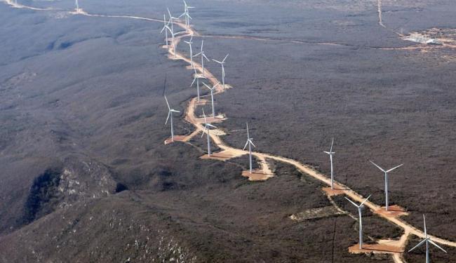 Parque eólico em Brotas de Macaúbas: Bahia é destaque na geração de energia limpa - Foto: Carlos Casaes | Ag. A TARDE