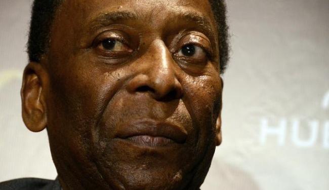 Pelé passou por cirurgia para retirada de cálculos renais no dia 13 de novembro - Foto: Agência Reuters