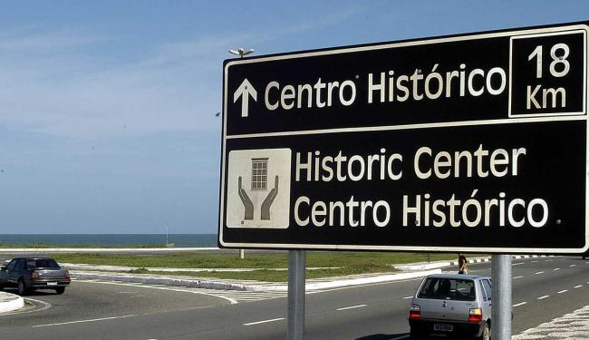 Sinalização turística antiga da capital baiana será substituída por novas placas para o verão - Foto: Foto: Sérgio Pedreira   Divulgação