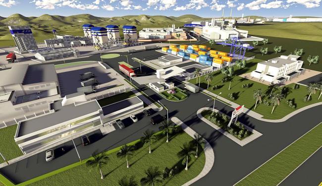 Projeto da ZPE da Bahia: 1ª etapa deve ser inaugurada em janeiro/2016 para operar em 2017 - Foto: Divulgação