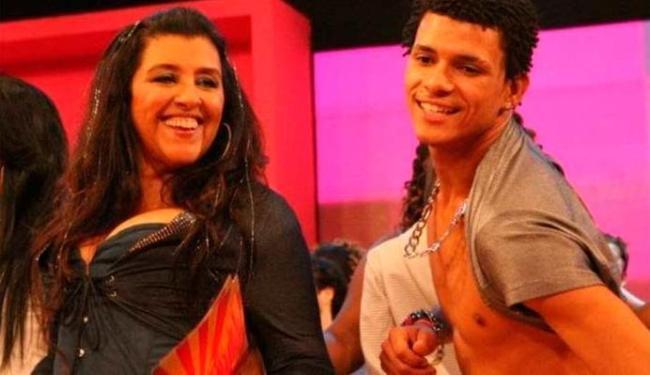 Regina Casé e o dançarino DG no programa Esquenta - Foto: Divulgação