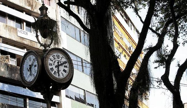 O relógio deve ser entregue à população no início de 2015 - Foto: Mila Cordeiro | Ag. A TARDE