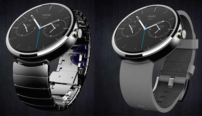 Relógios chegam com pulseiras de couro - Foto: Divulgação